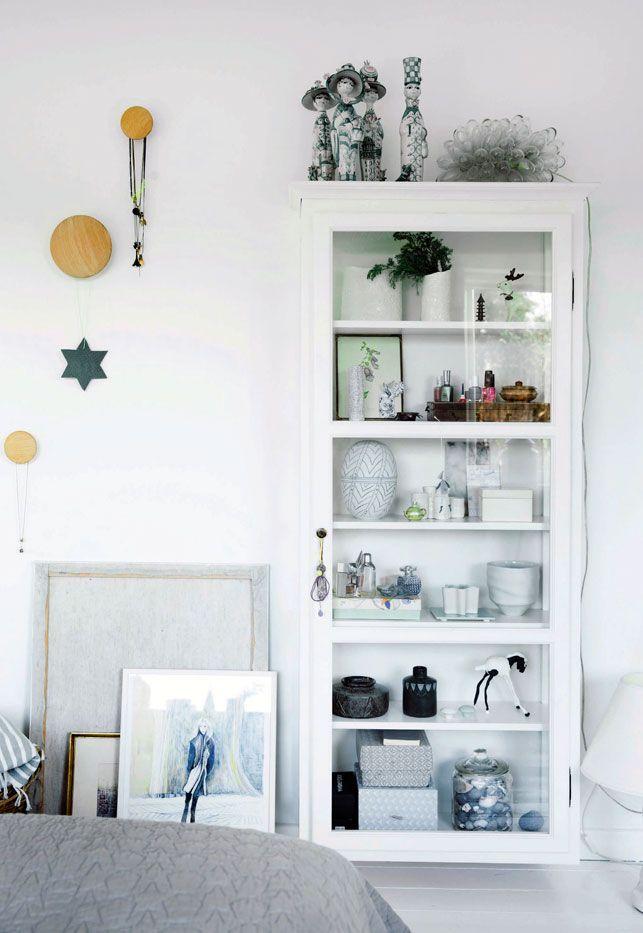 Vitrineskab: Lindebjerg Design - Hygge i rækkehuset: Jul i god tid - Boligliv