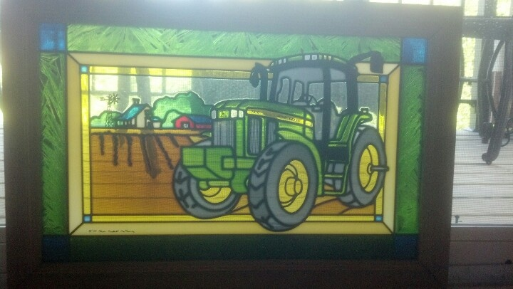 Tractor With Windows : Best images about cube de verre on pinterest stained