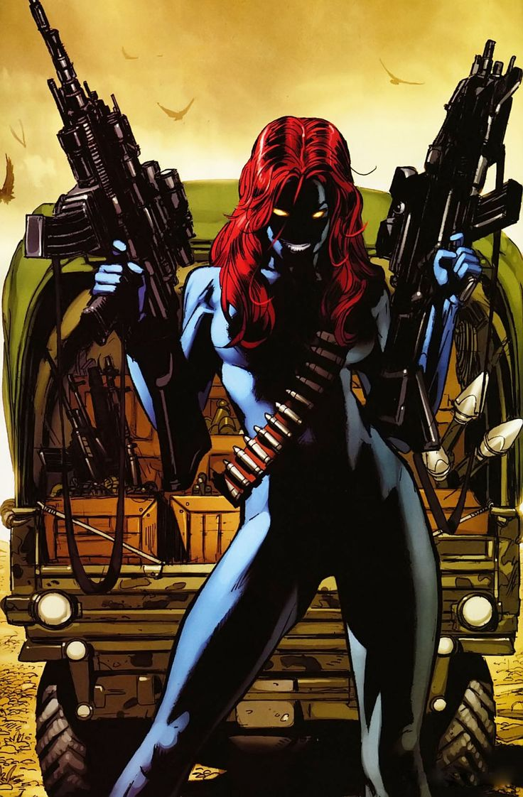 23 Best Sexiestbadass Female Comic Characters Images On -8477