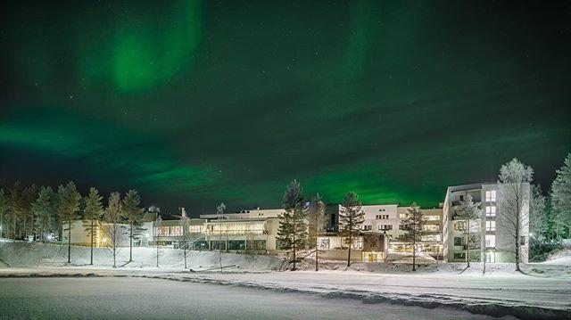 Northern lights in Rokua, Finland. Rokua Health & Spa Hotel #visitrokua #auroraborealis #revontulet #visitfinland #rokuageopark #unescoglobalgeopark #finland @rokuahealthspa