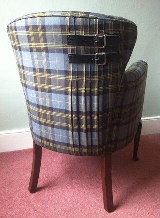 1930's Tartan Chair from Sarah Whyberd