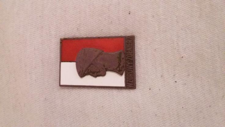 Dzisiejsze najcenniejsze znalezisko odznaka Wzorowego Żołnierza