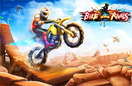 Bike Rivals game is a free Action games. Here you can free play Bike Rivals game online. You can play Bike Rivals in full-screen mode in your browser for free without any annoying AD