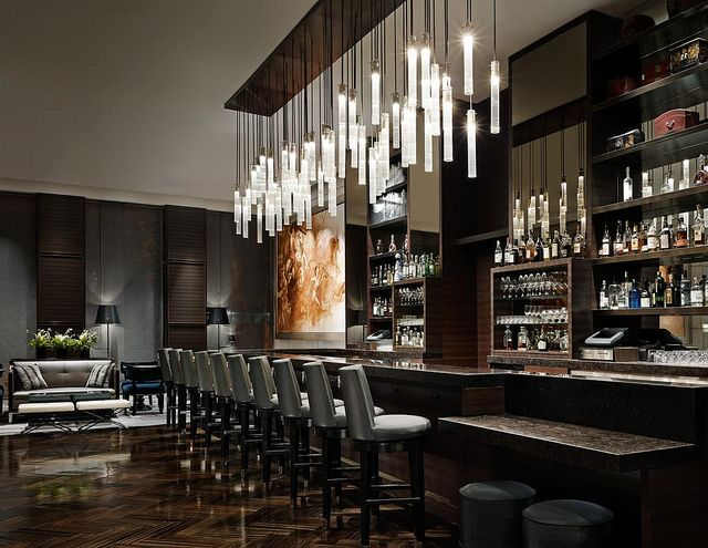 i like the bar stools-kh The St. Regis San Francisco—Lobby Lounge Bar | Flickr - Photo Sharing! San Francisco Hotel Interior Designs