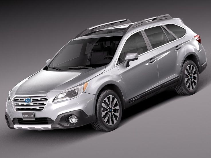 3D Model 2015 Subaru Outback - 3D Model