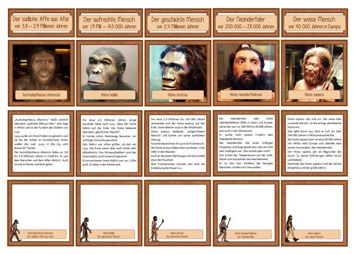 Diverse Materialien zum Thema Urzeit, warten schon länger auf das Veröffentlichen. Damit sich die Rubrik Geschichte mal etwas füllt! :)   ...