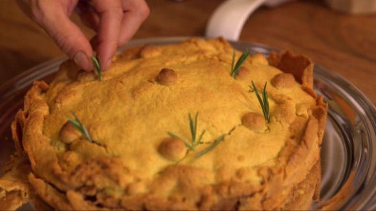 Pasticcio di maccheroni in crosta dolce