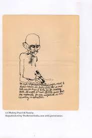 gandhi drawing - Google Search