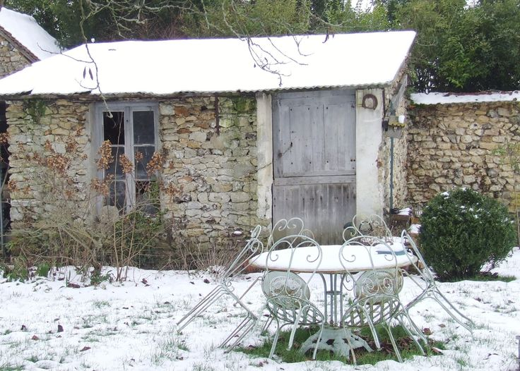 A French Garden Shed Rustic Perfect My French