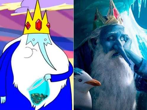 """Der Eiskönig aus """"Adventure Time – Abenteuerzeit mit Finn und Jake"""" - Cartoon Network / chasestone"""