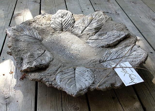 concrete bowl.