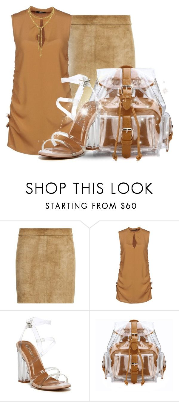 """""""- 77 - Transparent - Bag & Shoes"""" by falticska-cerasella ❤ liked on Polyvore featuring Polo Ralph Lauren, Carla G. and Report"""