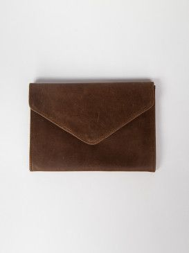 Tigist Leather Clutch Handmade in Ethiopia #Live FashionABLE