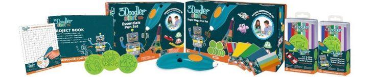 Amazon.com: 3Doodler Start Essentials Pen Set + Multi-Shape DoodleBlock Caleb