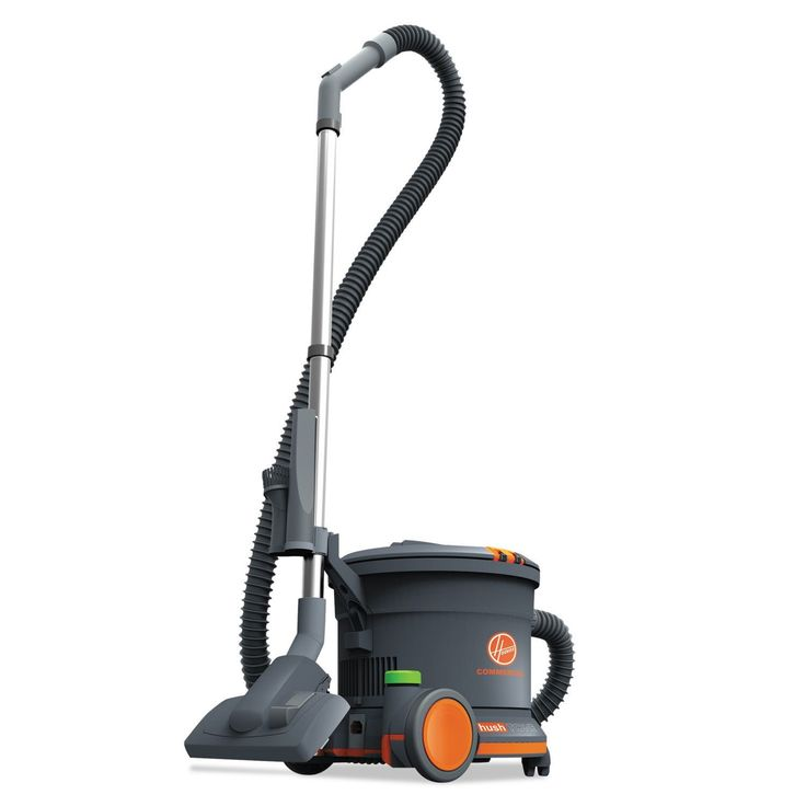 Hoover Commercial HushTone Canister Vacuum Cleaner 10.75-pound