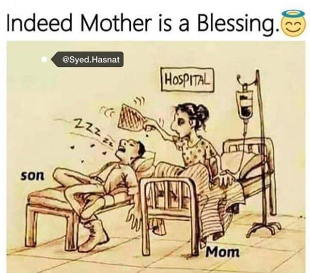 Mom is a god blessing ❤️