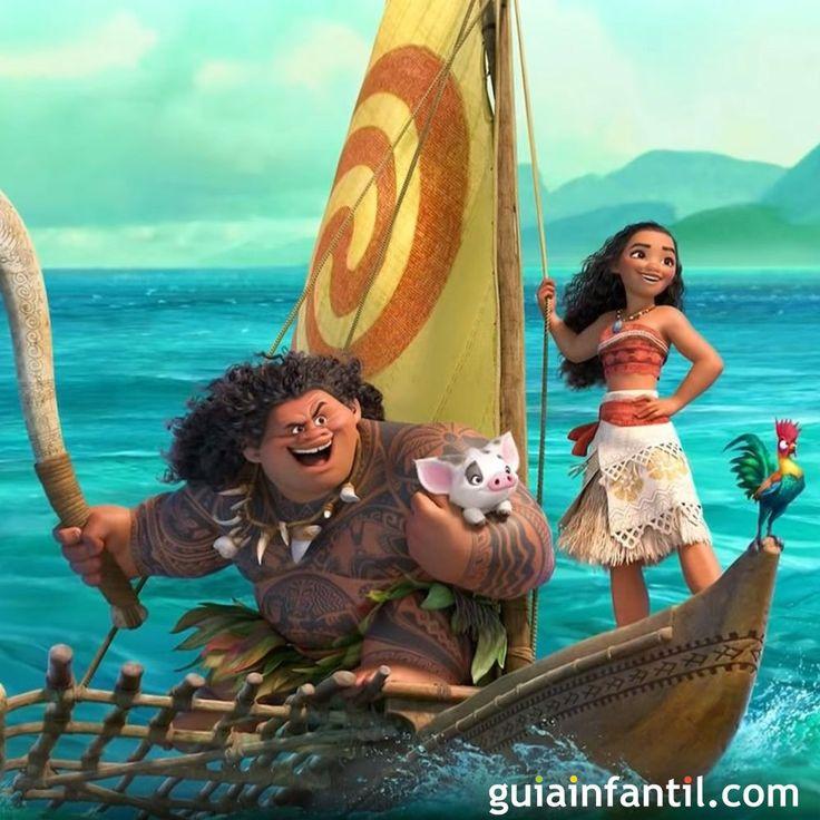 El tráiler en español de Moana (Vaiana), la nueva princesa Disney!