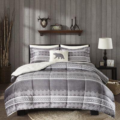 Woolrich Anderson Comforter Set Size: Full/Queen