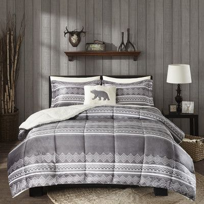 Woolrich Anderson Comforter Set Size: Full/Queen
