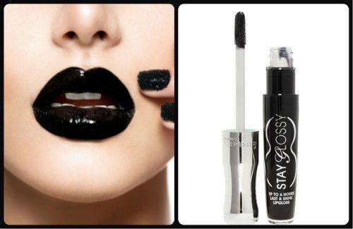 RIMMEL London Stay Glossy Lip Gloss - Shade 480 Black Diva - 5ml #RimmelLondon