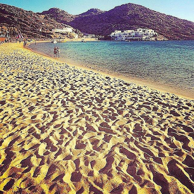 Feel the golden sand of Ios island (Ίος)❤️. Wonderful island with amazing beaches , beautiful villages and intense nightlife !