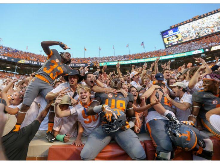 Victory celebration time TN Vols defeat FL