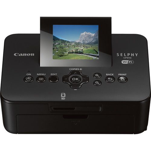 $89 Canon SELPHY CP910 Wireless Compact Photo Printer (Black)