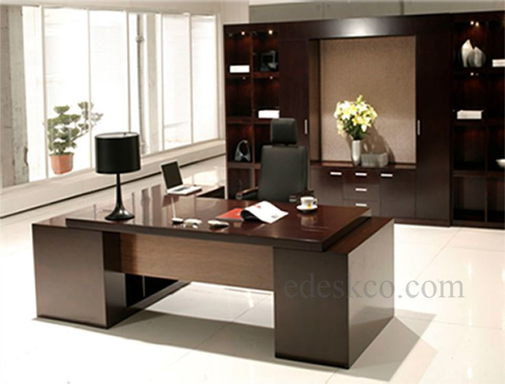 Home Office Contemporary Furniture enchanting sectional desk with eurway and comfortable office chair plus paint concrete floor for elegant home Modern Executive Desk Google Search Office Pinterest Modern Executive Desk Desks And Google Search