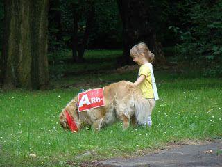 Ania mama Agnieszki: Gryfny Bieg w parku Śląskim