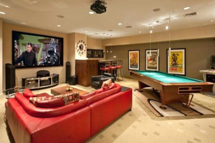 Interior Design:Small Game Room Ideas Small Game Room ...
