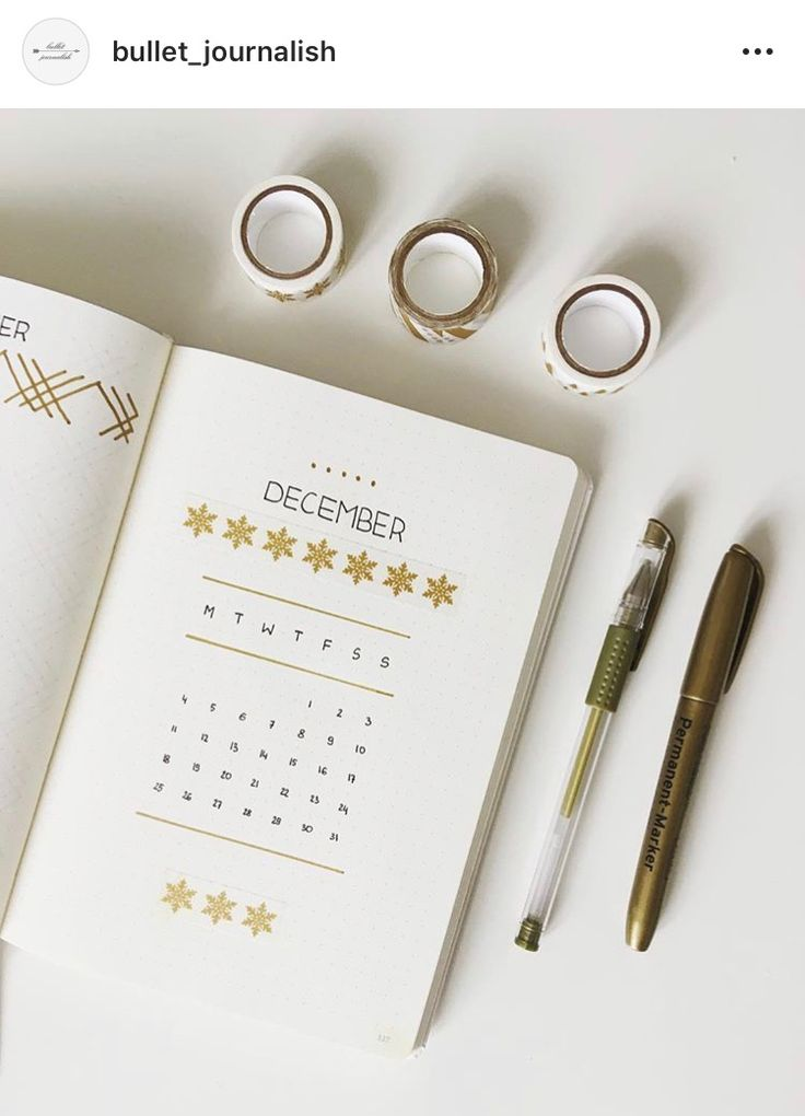 13 Minimalist Bullet Journal Monthly Spread Ideas