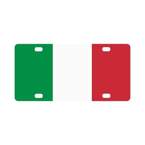 Italian License Plate Cover $19.95 #ItalianLicenseplate #licenseplate #italianflag #italian