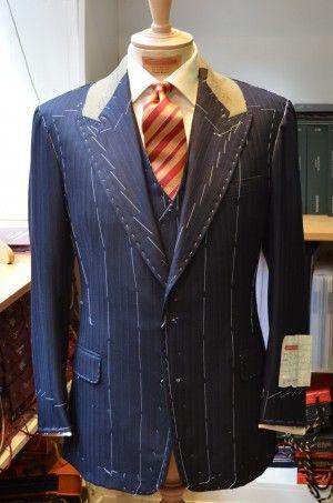 The Savile Row Tailor  STEVEN HITCHCOCK  Savile Row Master Tailor