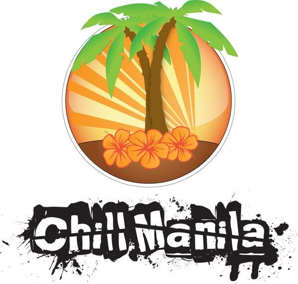 Chill Manila Logo by Claudio Coutinho, via Behance