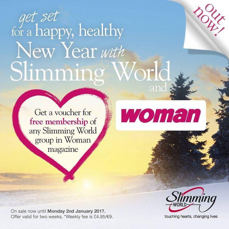 Slimming World voucher January 2017