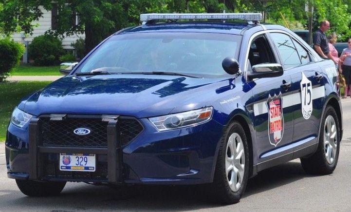 Wisconsin State Patrol Police Cars Ford Police State Police