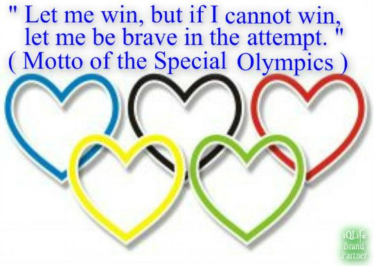 I am the proud sister of a current Special Olympian & a former Special Olympian who is now an Angel in Heaven!!