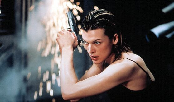 Milla Jovavich kicked some serious butt in her four Resident Evil films. For the role, Milla shaped her body into a lean and mean specimen that resembled the female action figure. The actress engaged in hours of martial arts & fight style #workouts for speed & agility and to shape her muscles and increase her #strength, she pushed through power resistance #exercises like one leg squats and hip extensions on the physio-ball. Milla is recognized as one of Hollywood's favorite female action…