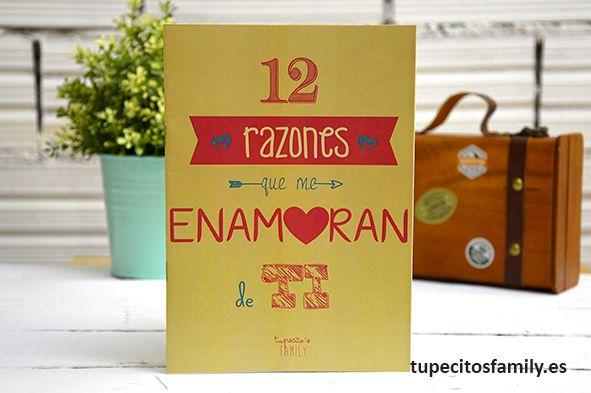 12 razones que me enamoran de ti. #tupecitos#tupecitosfamily #librillo