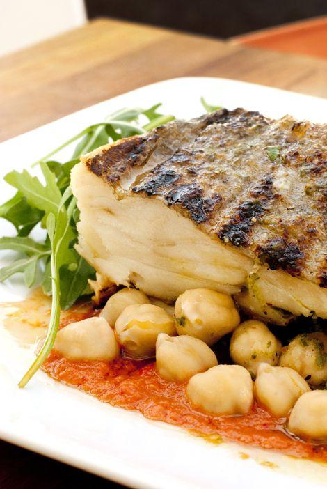 AMO um prato bonito assim de bacalhau!