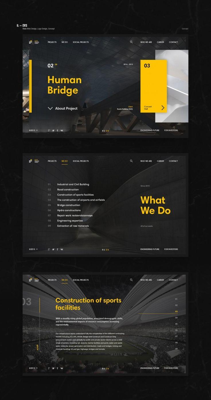 EVS Web design
