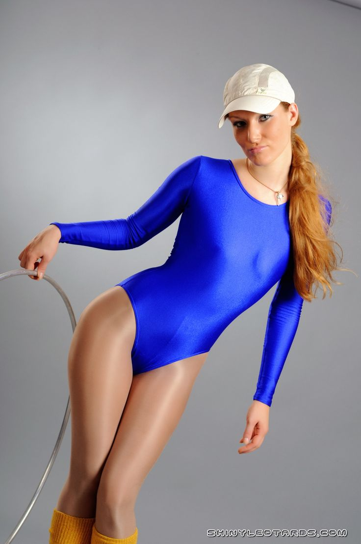 Women dressed in leotards and pantyhose