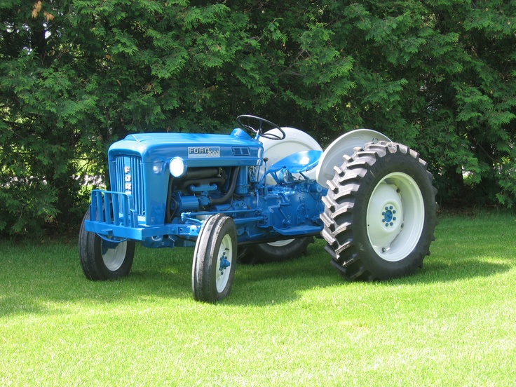 1963 Ford Tractor Model 2000 : Ford cyl speed tractors equipment