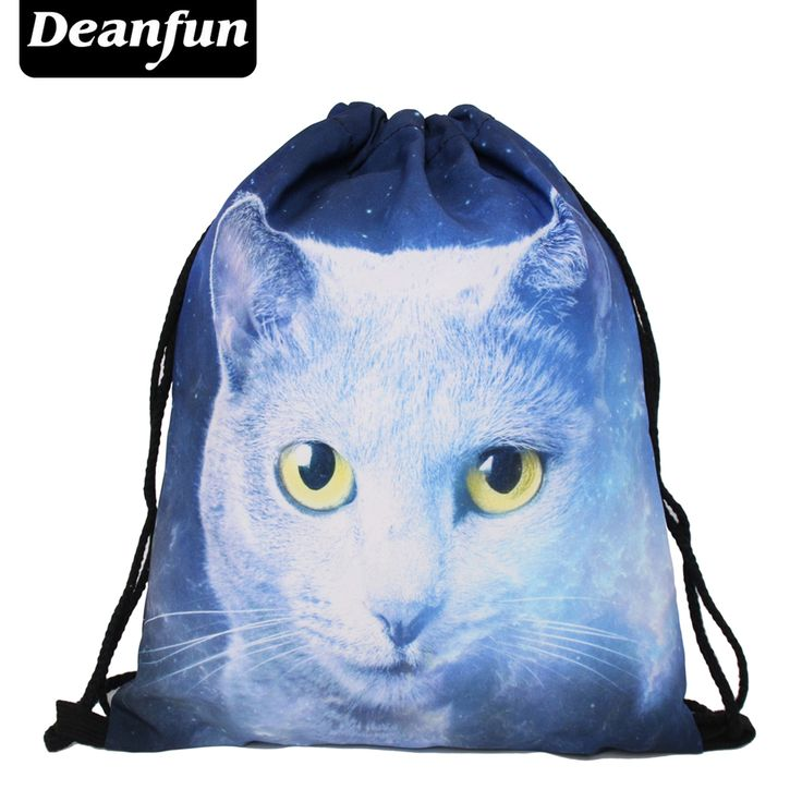 $2.99 (Buy here: https://alitems.com/g/1e8d114494ebda23ff8b16525dc3e8/?i=5&ulp=https%3A%2F%2Fwww.aliexpress.com%2Fitem%2FDeanfun-2016-women-backpack-printing-bag-for-picnic-mochila-feminina-harajuku-drawstring-bag-mens-backpacks-ghost%2F32750797173.html ) Deanfun 2016 women backpack printing bag for picnic mochila feminina harajuku drawstring bag mens backpacks ghost cat  S71 for just $2.99