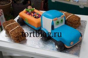 Торт грузовик заказать