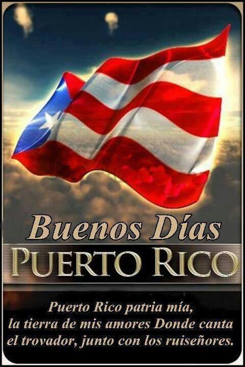 Good Morning In Puerto Rican Spanish : Best images about bandera de puerto rico on pinterest