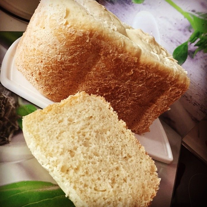 Weißbrot im Brotbackautomaten