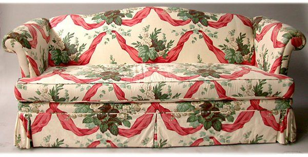Image result for ugly floral sofa drexel heritage