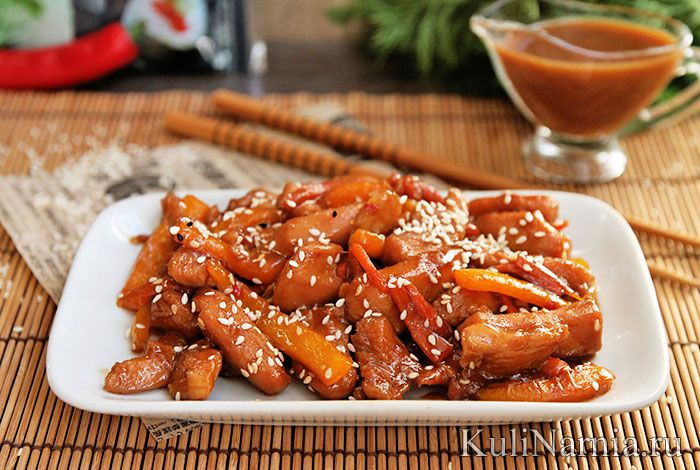 Курица терияки рецепт приготовления