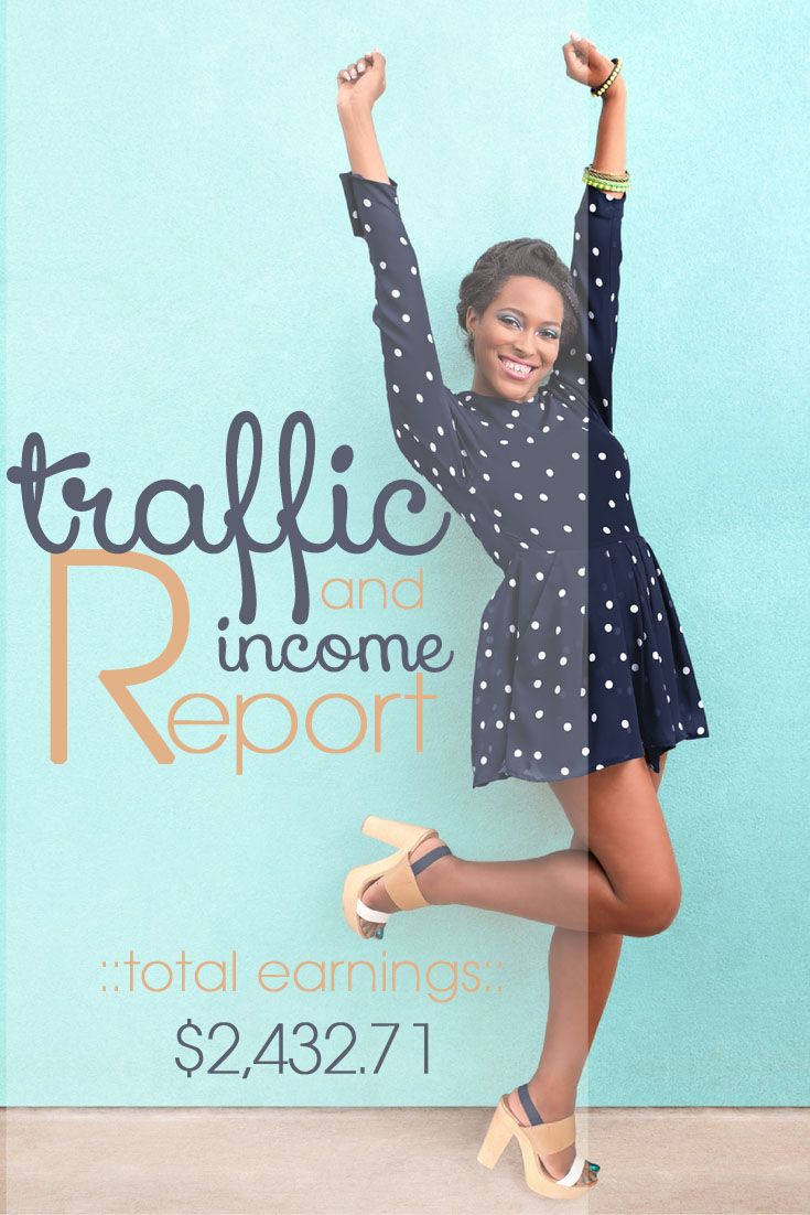 I am doing something a bit different on the blog today! I am sharing my traffic and income from blogging. Not only am I sharing this I am also sharing a ton of blogging tips. Tell me what you all think about this new segment on the blog I am looking at doing a monthly traffic and income report with tips and different things that I learned for the month to increase both. http://bit.ly/1vRGuap #blogging #bloggers #bloggingtips #increasetraffic #increaseincome